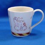 九谷焼 マグカップ 招き猫