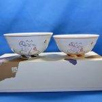 九谷焼 組飯碗 招き猫
