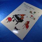 Piano line クリアファイル アラモード