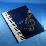 Piano line クリアファイル ハミング