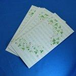 ミュージックイチゴ花柄 のし封筒
