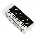 Piano line消しゴム(音符)ブラック