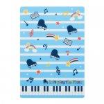 Piano line B5下敷き (スター)ブルー
