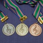 ト音メダル