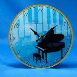 掛置時計 グランドピアノ