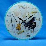 掛置時計 楽器2