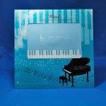 ガラスフォトフレーム グランドピアノ