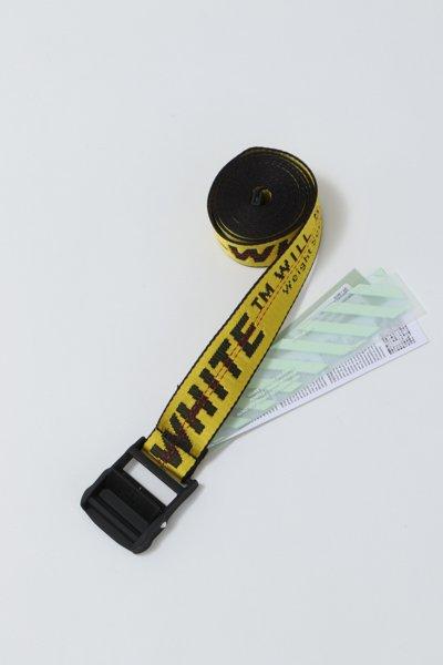オフホワイト ベルト