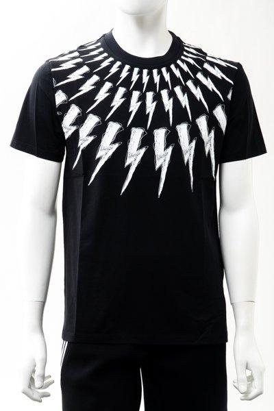 ニール バレット NEIL BARRETT パールネックレス Tシャツ メンズ 【 NEIL BARRETT 】