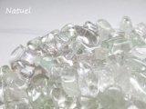 ブラジル産プラシオライト(グリーンアメシスト) さざれ石(100g、200g)