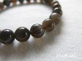 *Bracelet* タンザニア産ブラックサンストーン