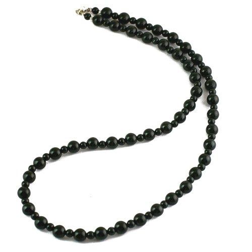 ブラックトルマリンネックレス マイナスイオン 天然石