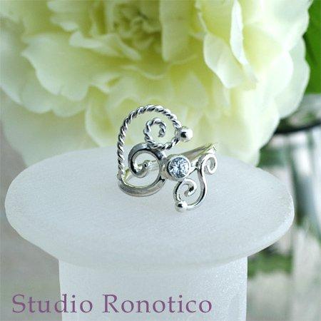 天使の羽 シルバーリング1 #11 silver 925
