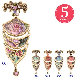 <img class='new_mark_img1' src='//img.shop-pro.jp/img/new/icons5.gif' style='border:none;display:inline;margin:0px;padding:0px;width:auto;' />Michal Negrin - ブローチ / NICOLE BROOCH(全5色)【予約注文】