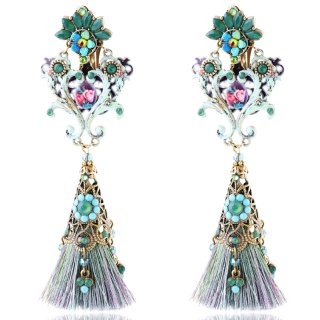<img class='new_mark_img1' src='//img.shop-pro.jp/img/new/icons5.gif' style='border:none;display:inline;margin:0px;padding:0px;width:auto;' />Michal Negrin - クリップイヤリング / BOHEMIAN LOOK CHANDELIER EARRINGS【予約注文】