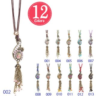 Michal Negrin - ネックレス/TRENDY BOHEMIAN TREBLE CLEF NECKLACE(全12色)【予約注文】