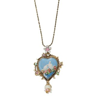 Michal Negrin - ネックレス / CAMEO HEART NECKLACE(鳩)【予約注文】