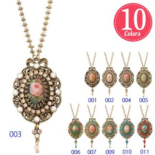 Michal Negrin - ネックレス / GOTHIC CAMEO NECKLACE(全10色)【予約注文】