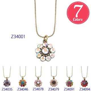 Michal Negrin - ネックレス / TINY FLOWER NECKLACE(全7色)【予約注文】