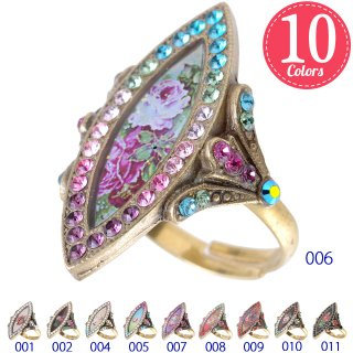 <img class='new_mark_img1' src='https://img.shop-pro.jp/img/new/icons5.gif' style='border:none;display:inline;margin:0px;padding:0px;width:auto;' />Michal Negrin - リング / STYLISH RING(全10色)【予約注文】