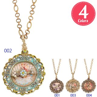 <img class='new_mark_img1' src='https://img.shop-pro.jp/img/new/icons5.gif' style='border:none;display:inline;margin:0px;padding:0px;width:auto;' />Michal Negrin - ネックレス/YES NO NECKLACE(全4色)【予約注文】
