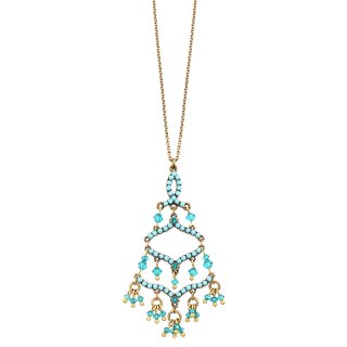 Michal Negrin - ネックレス / LIAM NECKLACE(ターコイズ)