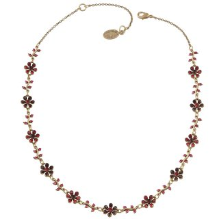 Michal Negrin - ネックレス/DAISY CHAINS NECKLACE(レッド)