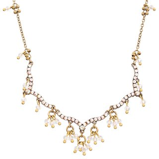 Michal Negrin - ネックレス / JESSICA NECKLACE(ホワイト)