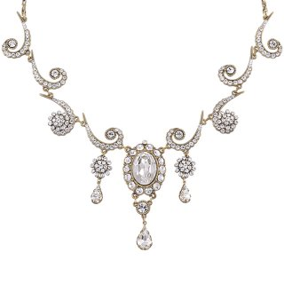 Michal Negrin - ネックレス/VINTAGE NECKLACE(クリア:ホワイト)