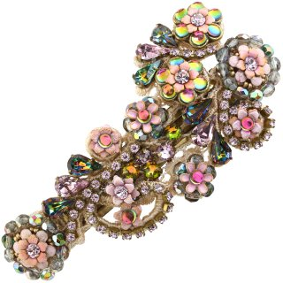 <img class='new_mark_img1' src='https://img.shop-pro.jp/img/new/icons5.gif' style='border:none;display:inline;margin:0px;padding:0px;width:auto;' />Michal Negrin - レースヘアバレッタ/(ピンク×ヴィトレイル)