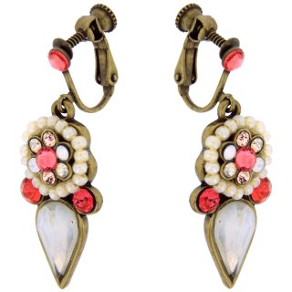 <img class='new_mark_img1' src='https://img.shop-pro.jp/img/new/icons5.gif' style='border:none;display:inline;margin:0px;padding:0px;width:auto;' />Michal Negrin - イヤリング・ピアス/DOLLED UP EARRINGS(サンセット・コーラル)