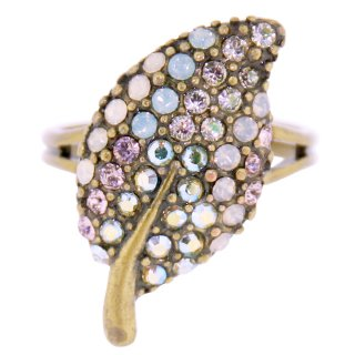 <img class='new_mark_img1' src='https://img.shop-pro.jp/img/new/icons5.gif' style='border:none;display:inline;margin:0px;padding:0px;width:auto;' />Michal Negrin - リング/LEAF RING(パステルマルチ)