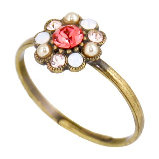 <img class='new_mark_img1' src='https://img.shop-pro.jp/img/new/icons5.gif' style='border:none;display:inline;margin:0px;padding:0px;width:auto;' />Michal Negrin - リング/TINY FLOWER RING(コーラル・サンセット)