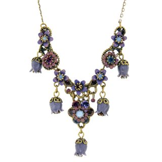 <img class='new_mark_img1' src='https://img.shop-pro.jp/img/new/icons5.gif' style='border:none;display:inline;margin:0px;padding:0px;width:auto;' />Michal Negrin - ネックレス / すずらんチャーム(パープル)