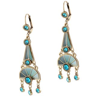 <img class='new_mark_img1' src='https://img.shop-pro.jp/img/new/icons5.gif' style='border:none;display:inline;margin:0px;padding:0px;width:auto;' />Michal Negrin - イヤリング・ピアス/HEATH EARRINGS(ブルーグリーン)