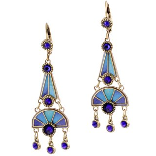 <img class='new_mark_img1' src='https://img.shop-pro.jp/img/new/icons5.gif' style='border:none;display:inline;margin:0px;padding:0px;width:auto;' />Michal Negrin - イヤリング・ピアス/HEATH EARRINGS(ブルー)