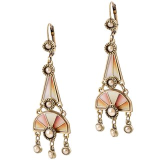 <img class='new_mark_img1' src='https://img.shop-pro.jp/img/new/icons5.gif' style='border:none;display:inline;margin:0px;padding:0px;width:auto;' />Michal Negrin - イヤリング・ピアス/HEATH EARRINGS(ピーチ)