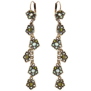 <img class='new_mark_img1' src='https://img.shop-pro.jp/img/new/icons5.gif' style='border:none;display:inline;margin:0px;padding:0px;width:auto;' />Michal Negrin - イヤリング・ピアス/CLAIRE EARRINGS(グリーン)