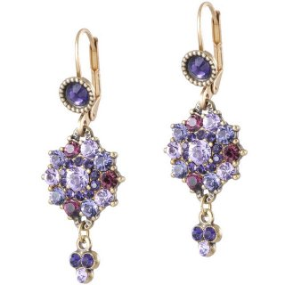 <img class='new_mark_img1' src='https://img.shop-pro.jp/img/new/icons5.gif' style='border:none;display:inline;margin:0px;padding:0px;width:auto;' />Michal Negrin - イヤリング・ピアス/ZOEY EARRINGS(パープル)