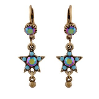 <img class='new_mark_img1' src='https://img.shop-pro.jp/img/new/icons5.gif' style='border:none;display:inline;margin:0px;padding:0px;width:auto;' />Michal Negrin - イヤリング・ピアス/KOKHAV EARRINGS(ターコイズ)