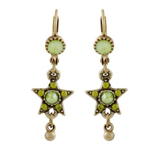 <img class='new_mark_img1' src='https://img.shop-pro.jp/img/new/icons5.gif' style='border:none;display:inline;margin:0px;padding:0px;width:auto;' />Michal Negrin - イヤリング・ピアス/KOKHAV EARRINGS(グリーン)