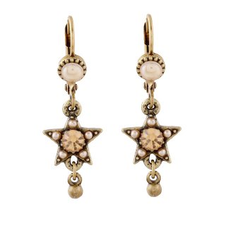 <img class='new_mark_img1' src='https://img.shop-pro.jp/img/new/icons5.gif' style='border:none;display:inline;margin:0px;padding:0px;width:auto;' />Michal Negrin - イヤリング・ピアス/KOKHAV EARRINGS(ピーチ×パール)