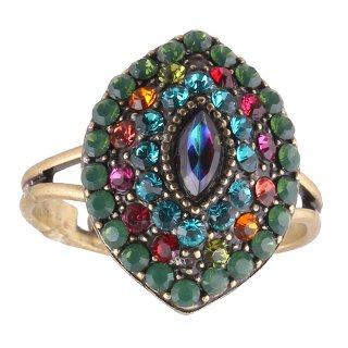 <img class='new_mark_img1' src='https://img.shop-pro.jp/img/new/icons5.gif' style='border:none;display:inline;margin:0px;padding:0px;width:auto;' />Michal Negrin - リング/EMUNA RING(マルチ)