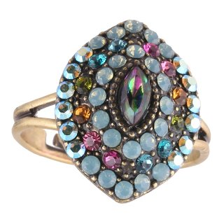 <img class='new_mark_img1' src='https://img.shop-pro.jp/img/new/icons5.gif' style='border:none;display:inline;margin:0px;padding:0px;width:auto;' />Michal Negrin - リング/EMUNA RING(パステル)