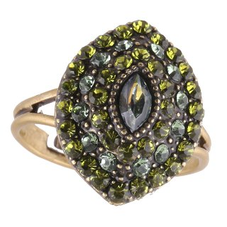 <img class='new_mark_img1' src='https://img.shop-pro.jp/img/new/icons5.gif' style='border:none;display:inline;margin:0px;padding:0px;width:auto;' />Michal Negrin - リング/EMUNA RING(グリーン)