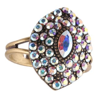 <img class='new_mark_img1' src='https://img.shop-pro.jp/img/new/icons5.gif' style='border:none;display:inline;margin:0px;padding:0px;width:auto;' />Michal Negrin - リング/EMUNA RING(ホワイト・オーロラ)