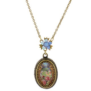 Michal Negrin - ネックレス/AZRIEL CAMEO NECKLACE(遊戯:ライトブルー)