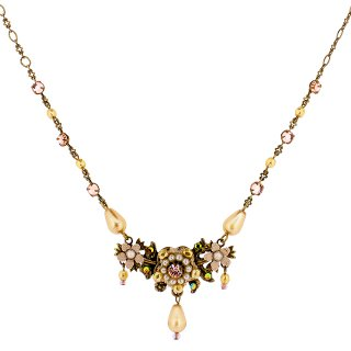 Michal Negrin - ネックレス/HINDA NECKLACE(パール×ピーチ)