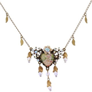 Michal Negrin - ネックレス/ADORE NECKLACE(ローズ:ホワイト・オーロラ)