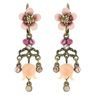 Michal Negrin - イヤリング・ピアス/LILY FLOWER EARRINGS(ピンク)